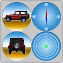 GForce and Inclinometer Car icon