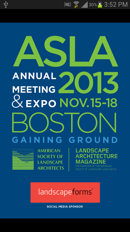 ASLA 2013 - screenshot