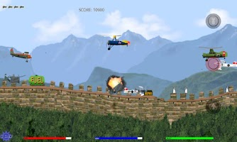 Screenshot of Autogyro 1935 Flying Game ST