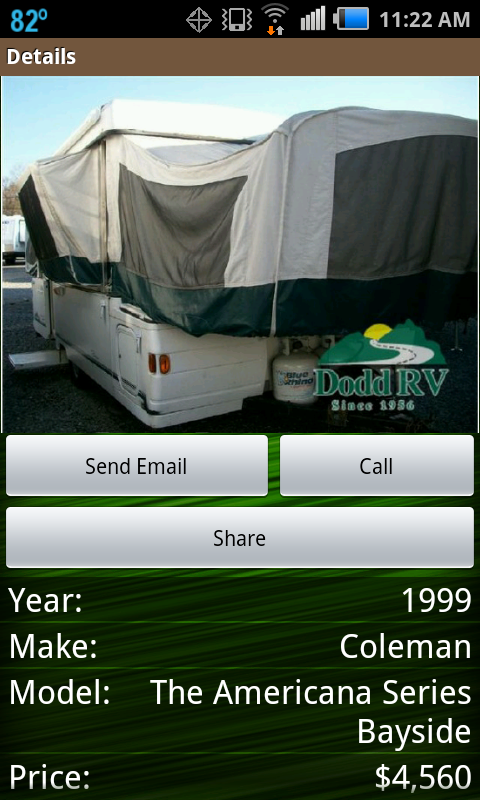 RV Trader - screenshot