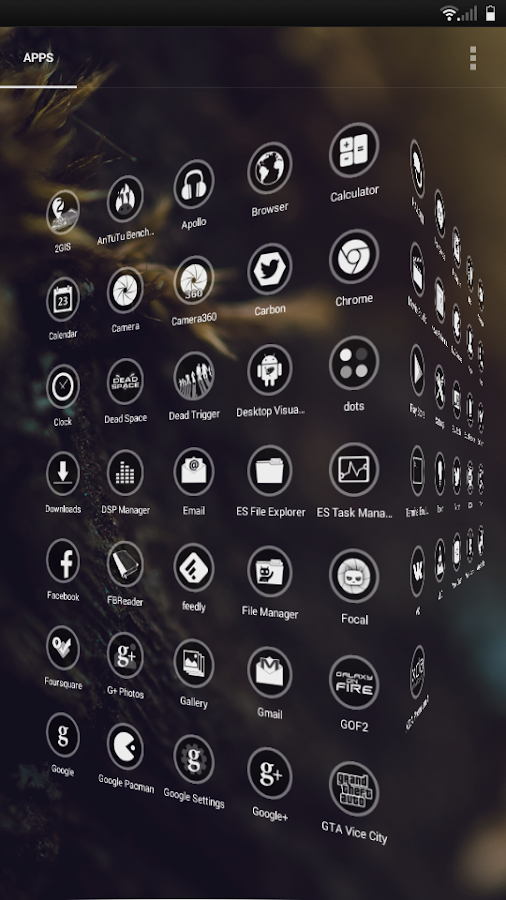 Circle CM10.1/CM10.2 Theme- screenshot