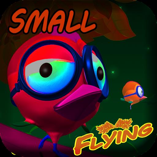 Small Bird Flying