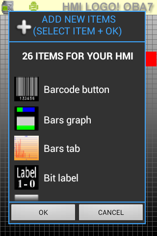 HMI LOGO! OBA7  OBA8 & S7-1200- screenshot