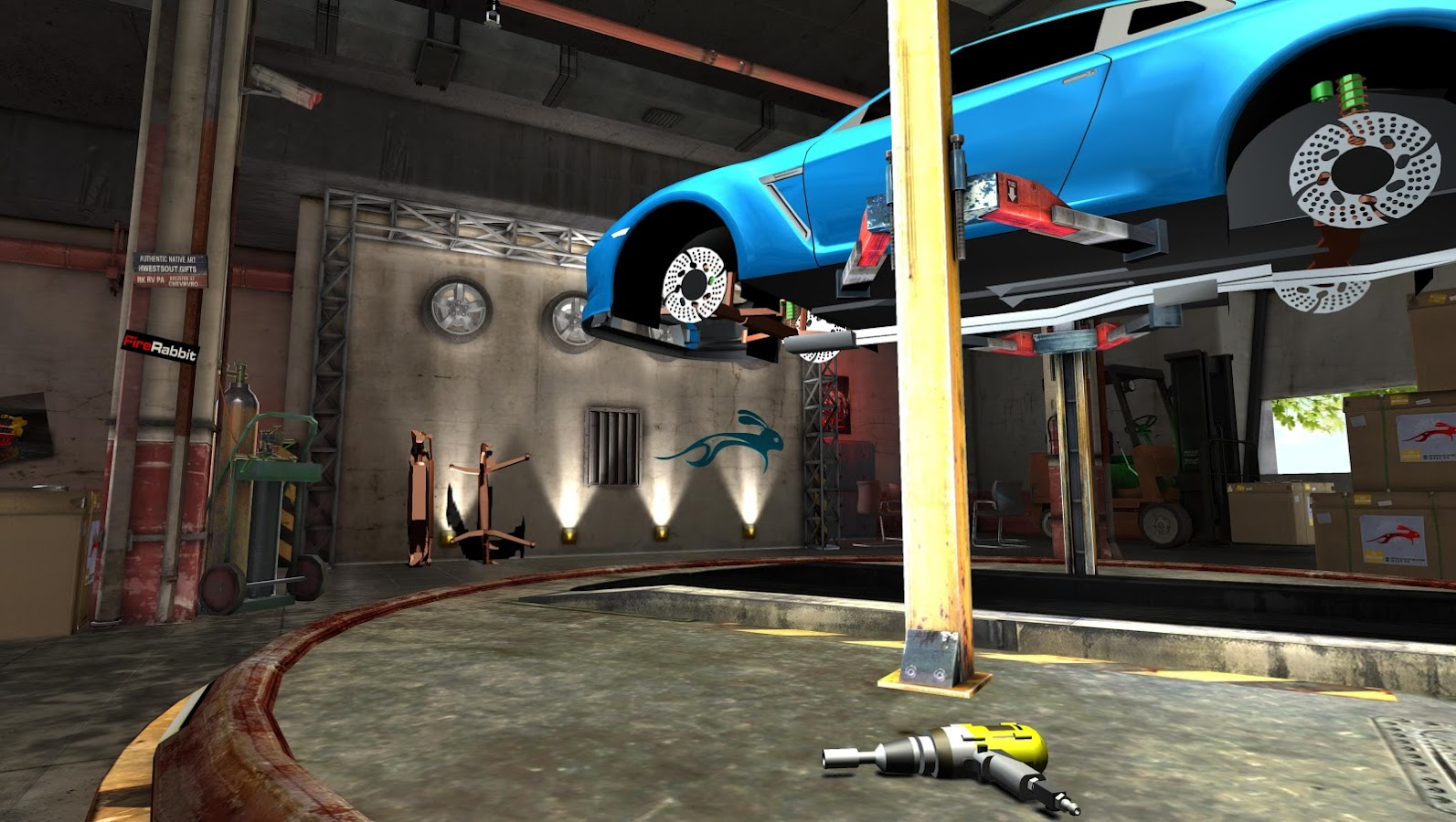 Fix My Car: Garage Wars! LITE- screenshot