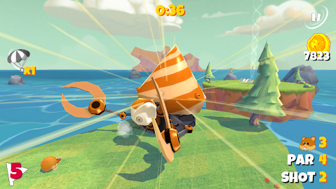 Boom Boom Hamster Golf Screenshot 7
