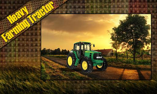Heavy Farming Tractor