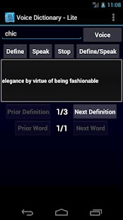 Voice Dictionary (Lite)- screenshot thumbnail