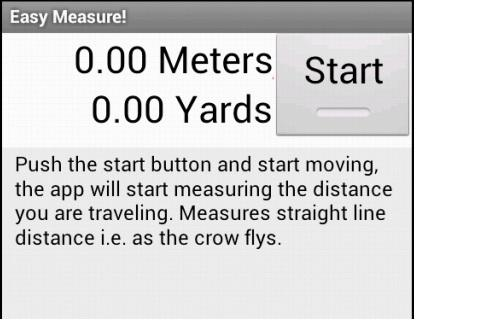 EasyMeasure GPS tool