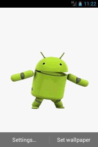 Androids Live Wallpaper