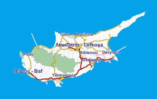 GpsTicker3 Zypern
