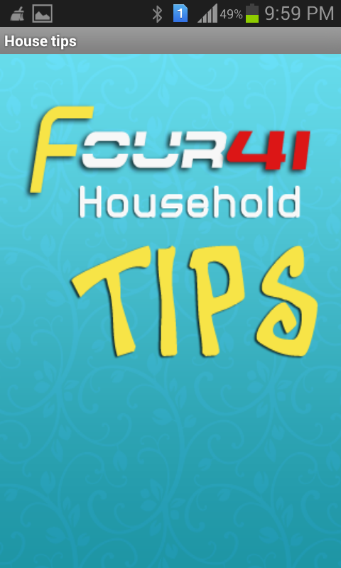 House Hold Tips- screenshot