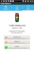 Screenshot of Traffic Cam Melbourne Free