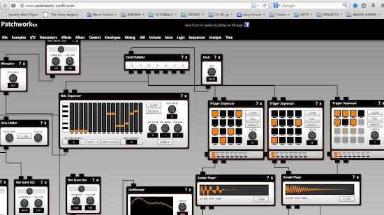 free online live modular synth jamie griffiths. Black Bedroom Furniture Sets. Home Design Ideas