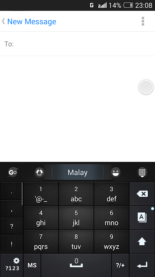Malay for GO Keyboard - Emoji- screenshot