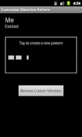 Screenshot of Custom Vibrates