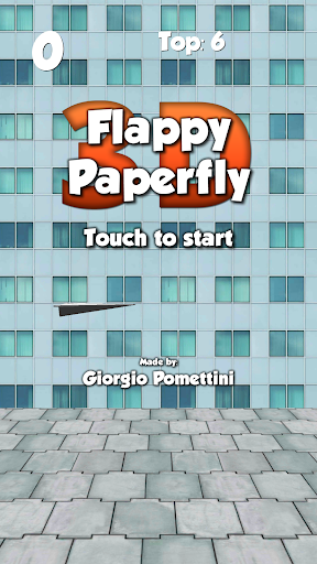 Flappy Paperfly 3D