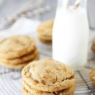 Brown Sugar Toffee Cookies.