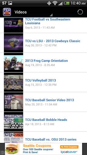 【免費運動App】TCU Football-APP點子