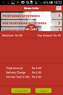 JusFood - Order Food Online - screenshot thumbnail