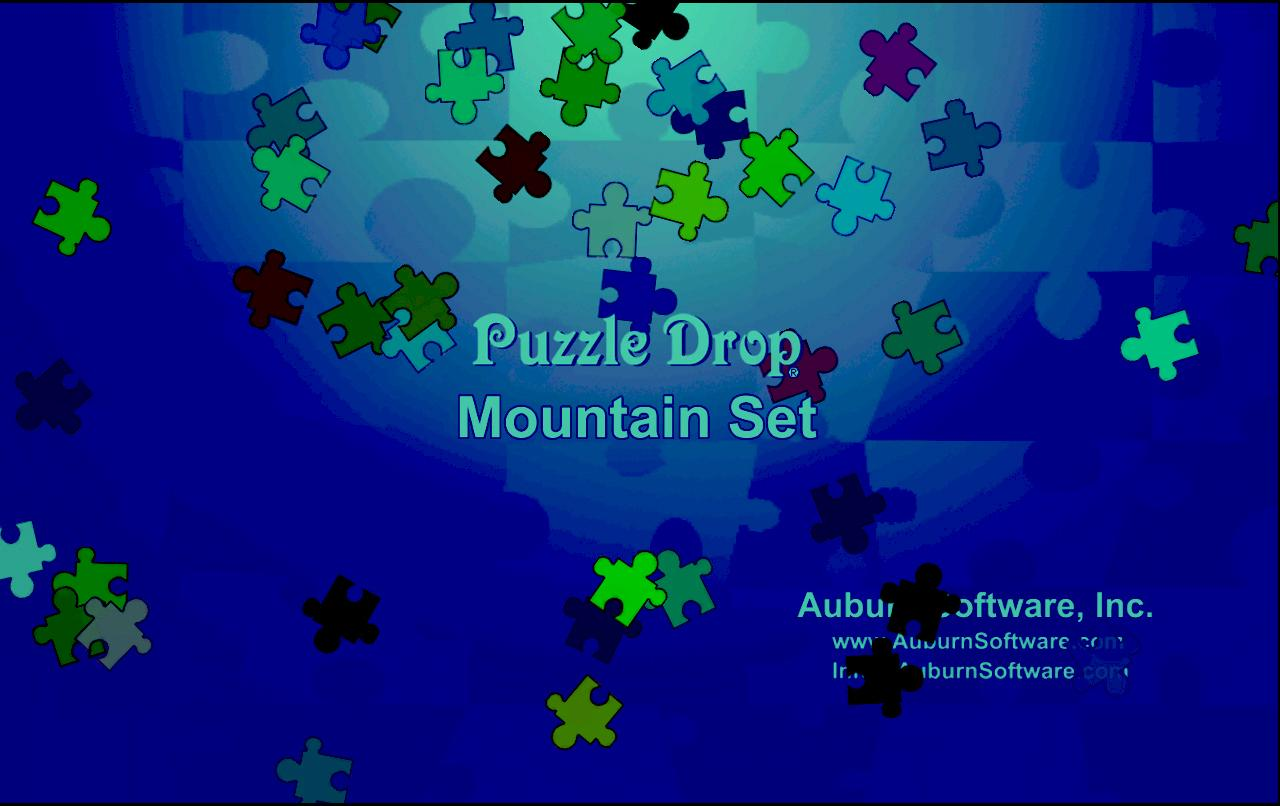 Puzzle Drop - Mountain Set - screenshot