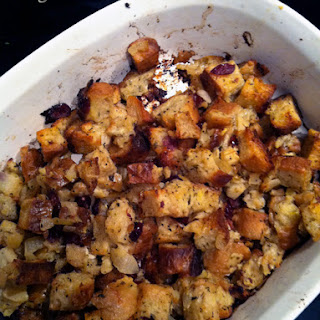 Apple Cranberry Stuffing