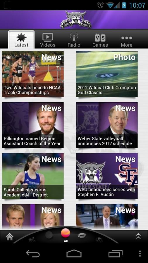 Weber State Wildcats: Premium- screenshot