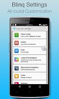 Screenshot of Blinq Lollipop Launcher Prime