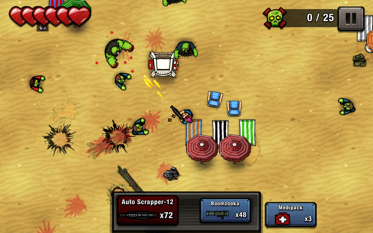 Zombie Scrapper- screenshot