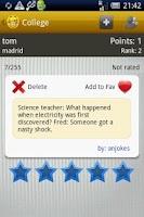 Screenshot of Jokespedia - Funny Jokes App