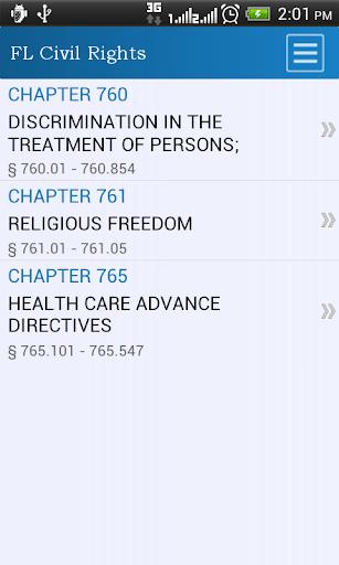 FL Civil Rights Code
