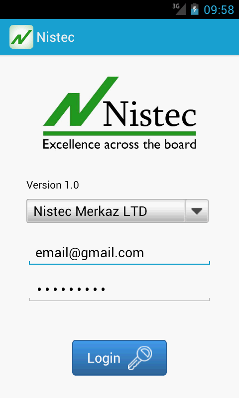 Nistec- screenshot