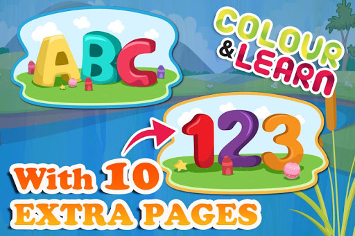 ABC Coloring Book for Kids Pro