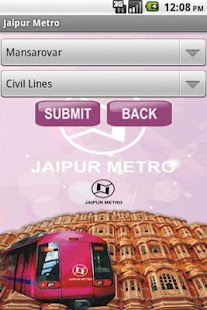 jaipur metro - screenshot thumbnail