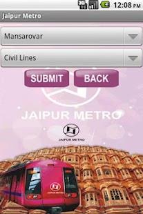 jaipur metro - screenshot thumbnail