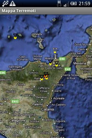 Terremoti Italia - screenshot