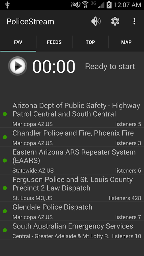 PoliceStreamFree - screenshot