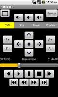Screenshot of MPC-HC Remote Control
