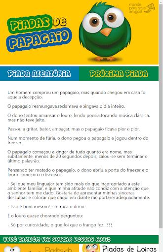 Piadas de Papagaio Brasileiras