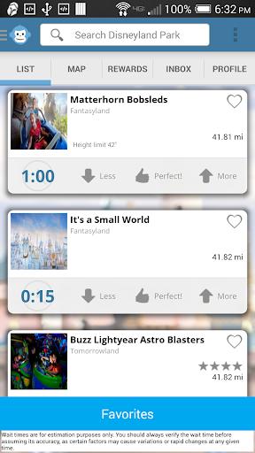 Disneyland Wait Times - Free
