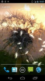 Dandelion Live Wallpaper - screenshot thumbnail