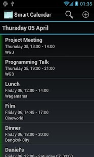 Smart Calendar (Beta)- screenshot thumbnail