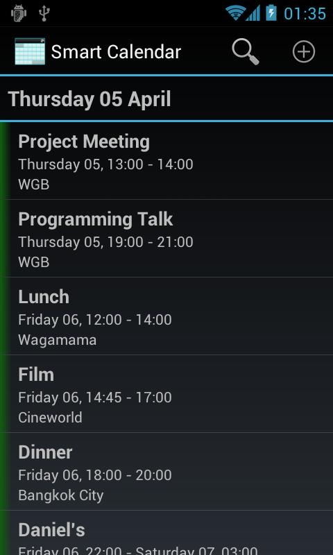 Smart Calendar (Beta)- screenshot