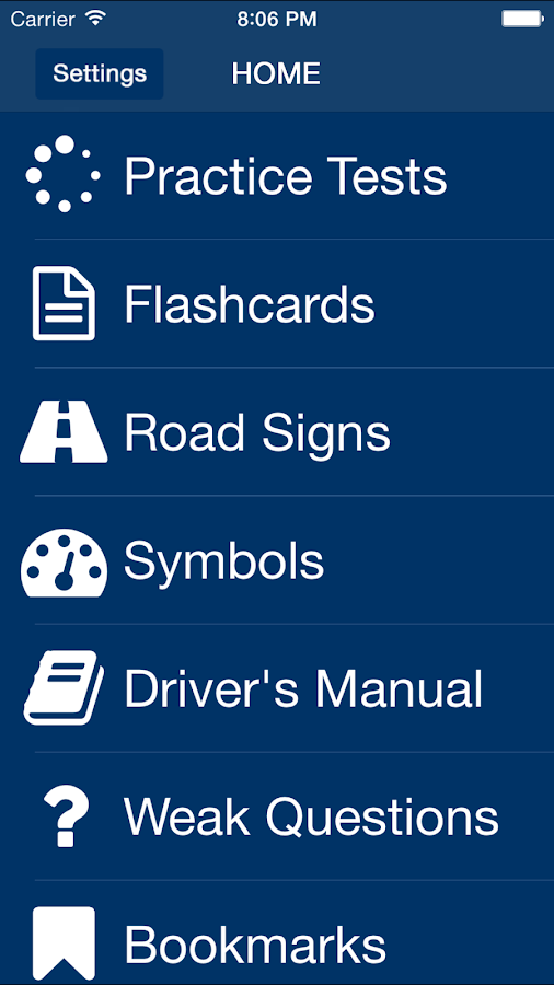 West virginia dmv permit test android apps on google play for Motor vehicle nj practice permit test
