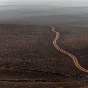 Road to Nowhere by Franco Beccari - Landscapes Travel ( wilderness, dirt road, andalucia, track, dirt track, road, landscapes, landscape )