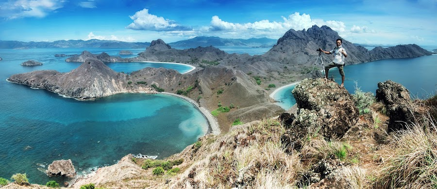 padar island indonesia by Rinal Dino - Landscapes Mountains & Hills ( mountain, sea, landscape )
