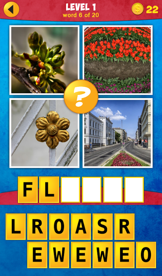 4 Pics 1 Word: Impossible Game - screenshot