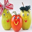 frutas divertidos rompecabezas icon