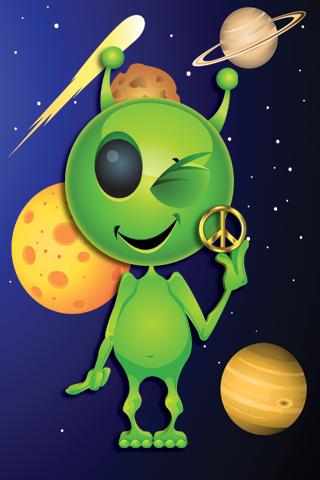 Fun Alien Live Wallpaper
