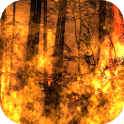 Flames HD Live Wallpaper Free icon