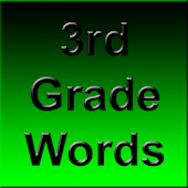 3rd Grade Spelling Words